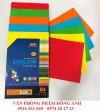 Giấy bìa trộn 5 màu A4